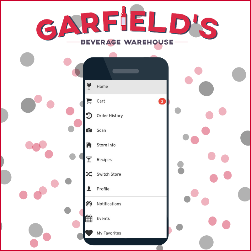Free In-Store Pickup & More Now Available with the Garfield's App!