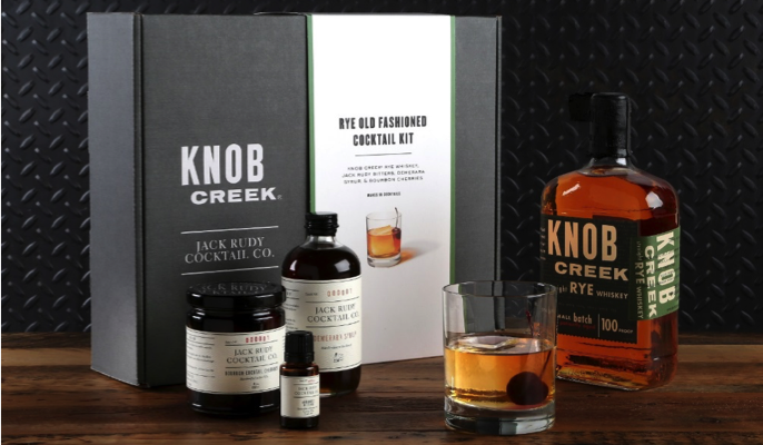 Knob Creek Rye Old Fashioned Cocktail Kit