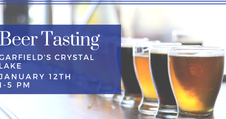 January Beer Tasting Crystal Lake