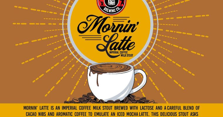 Toppling Goliath Mornin Latte Barrel Tap Crystal Lake