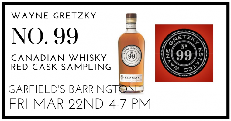 Wayne Gretzky No 99 Red Cask Whisky Sampling