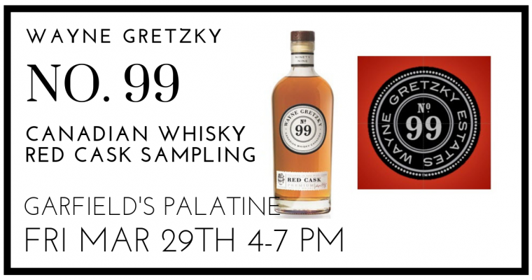 Wayne Gretzky No 99 Whiskey Sampling Palatine