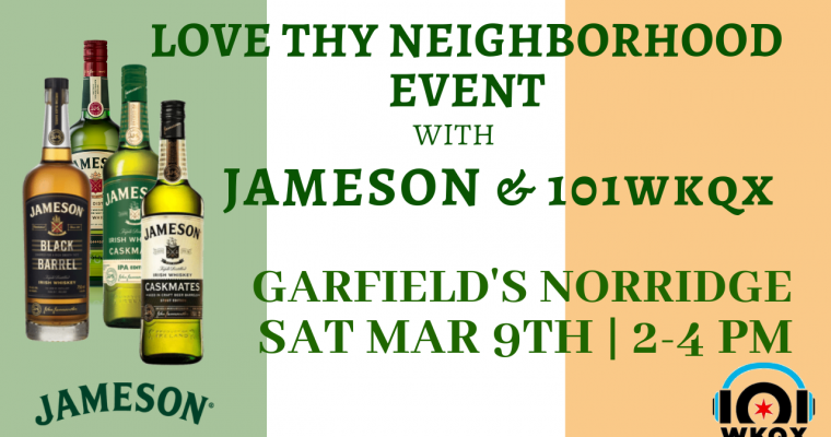 Jameson & 101WKQX Event Norridge