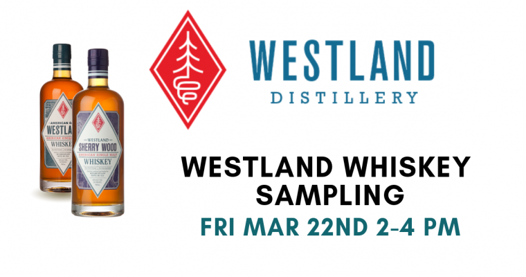 Westland Whiskey Sampling Barrington