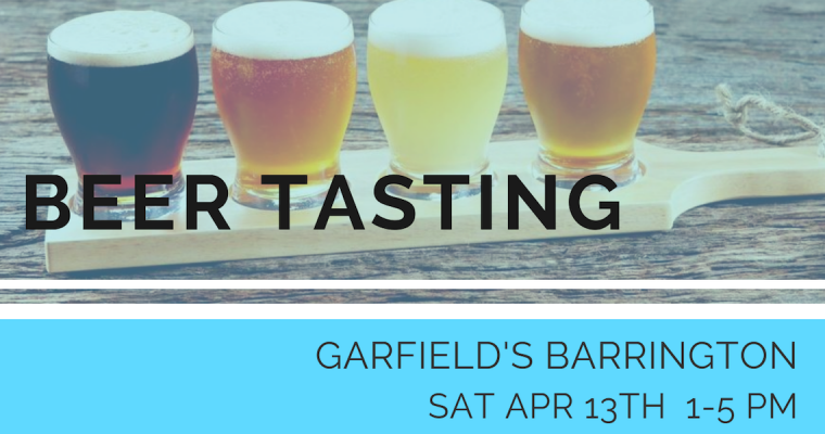 April Beer Tasting Barrington