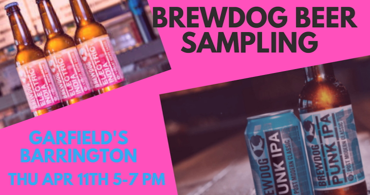 Brewdog Sampling Barrington