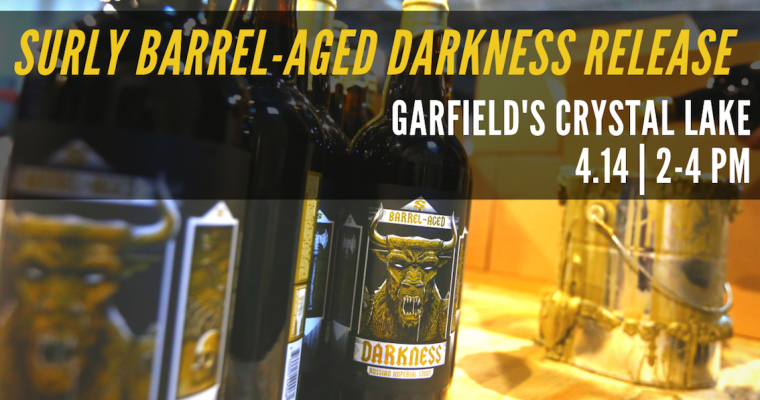 Surly Barrel-Aged Darkness Release Crystal Lake