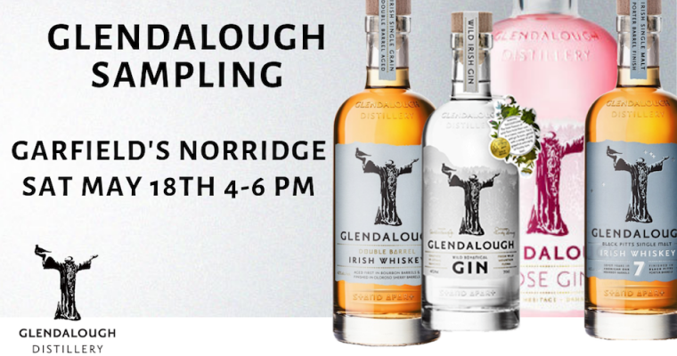 Glendalough Distillery Sampling Norridge