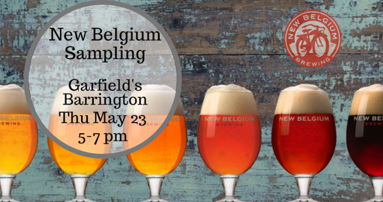 New Belgium Sampling Barrington