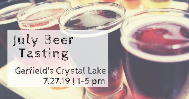 July Beer Tasting and Food Truck Event Crystal Lake