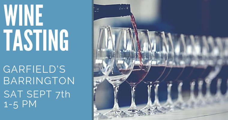 September Wine Tasting Barrington