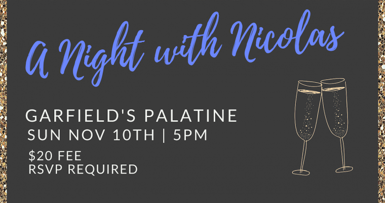 A Night With Nicolas Palatine