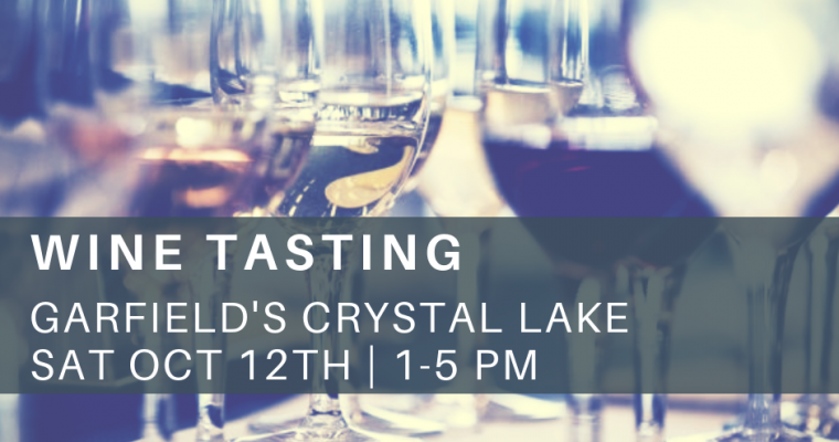 October Wine Tasting Crystal Lake