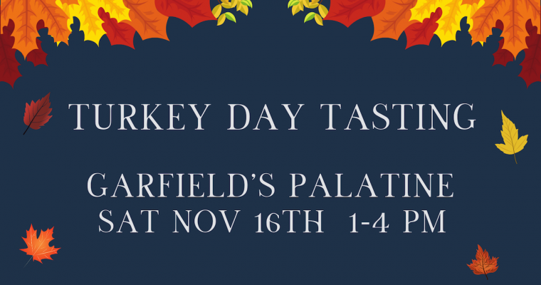 Turkey Day Tasting Palatine