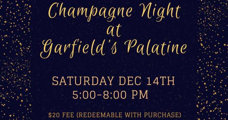 Champagne Night at Garfield's Palatine