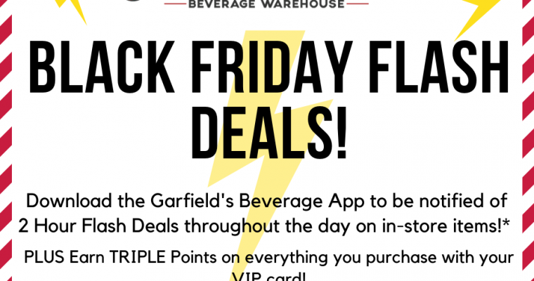 Black Friday Flash Deals AND Triple Points!