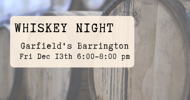 Whiskey Night Barrington